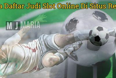 Cara Daftar Judi Slot Online Di Situs Resmi
